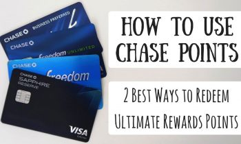 How to Redeem Chase Ultimate Rewards Points   2 Ways to Maximize Your Points for Free Travel